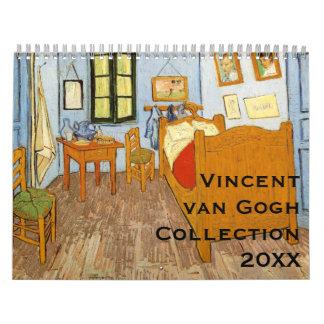 Vincent van Gogh Collection Calendar