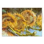 Vincent van Gogh - corte la CROMATOGRAFÍA GASEOSA Tarjeta De Felicitación