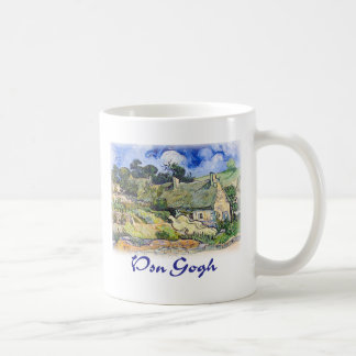 Vincent Van Gogh - Cottages with Thatched Roofs Coffee Mug