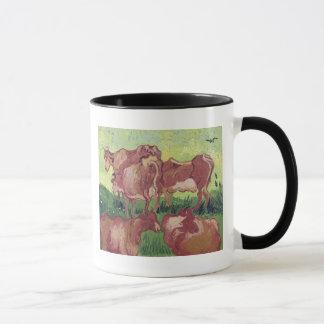 Vincent van Gogh | Cows, 1890 Mug