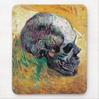 Vincent van Gogh - cráneo en perfil - bella arte Mouse Pad