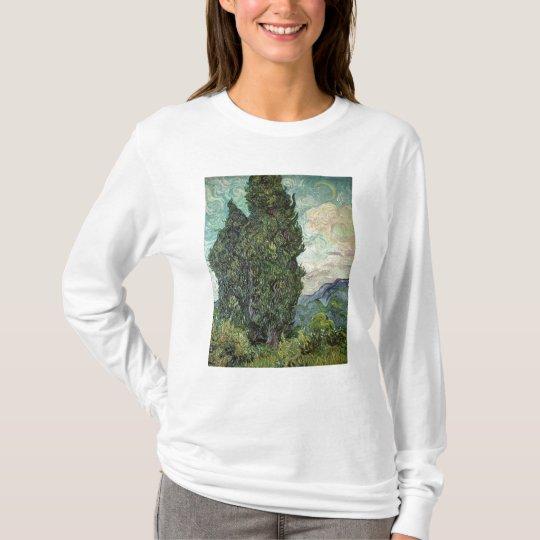 Vincent van Gogh | Cypresses, 1889 T-Shirt
