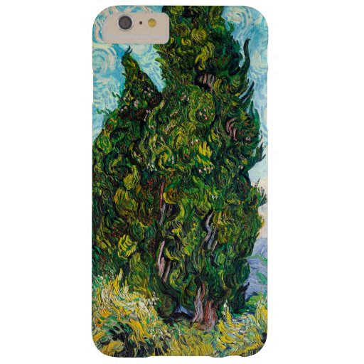 Vincent Van Gogh Cypresses Fine Art Barely There iPhone 6 Plus Case