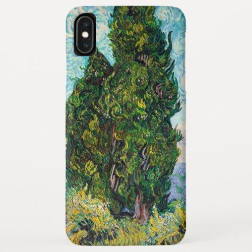Vincent Van Gogh Cypresses Fine Art Phone Case