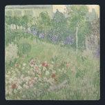 "Vincent van Gogh | Daubigny&#39;s garden, 1890 Stone Coaster<br><div class=""desc"">Daubigny&#39;s garden,  1890 | by Vincent van Gogh | Art Location: Van Gogh Museum,  Amsterdam,  The Netherlands | Dutch Artist | Image Collection Number: XIR253137</div>"