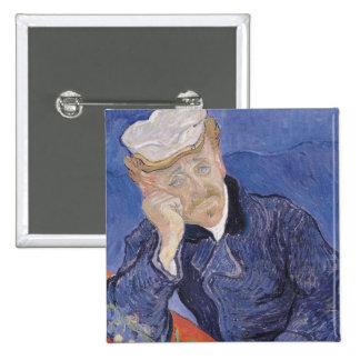 Vincent van Gogh | Dr. Paul Gachet, 1890 Pinback Button