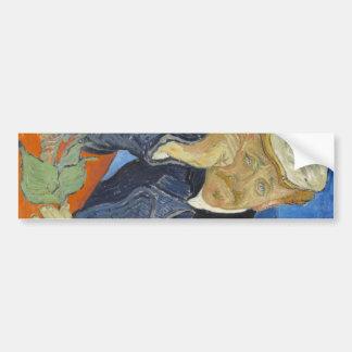 Vincent van Gogh - Dr Paul Gachet Bumper Sticker