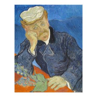 Vincent van Gogh - Dr Paul Gachet Letterhead Design