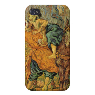 Vincent van Gogh - el buen samaritano iPhone 4 Cobertura