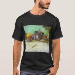 Vincent van Gogh el campo gitano de las caravanas Playera