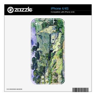 Vincent van Gogh el   cubrió con paja las cabañas Skins Para eliPhone 4S