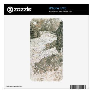 Vincent van Gogh el   la esquina del parque, 1888 iPhone 4S Skin