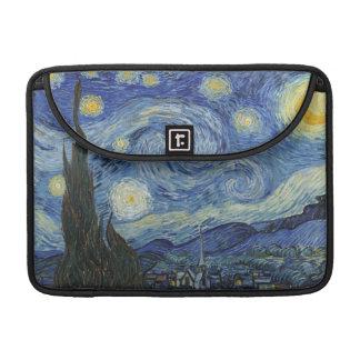 Vincent van Gogh el   la noche estrellada, junio Funda Para Macbook Pro