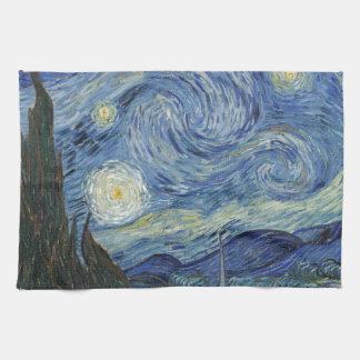Vincent van Gogh el | la noche estrellada, junio Toallas