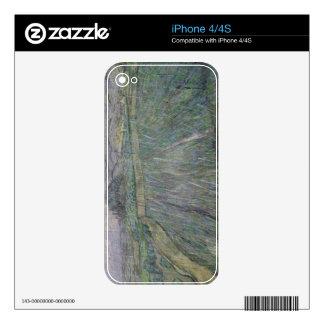 Vincent van Gogh el   la tempestad de truenos iPhone 4 Skins