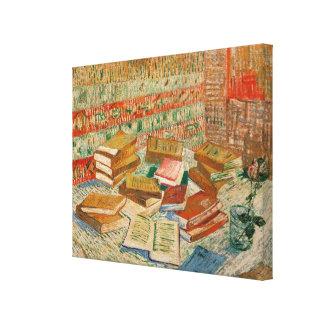 Vincent van Gogh el | los libros amarillos, 1887 Impresión En Lienzo