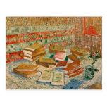 Vincent van Gogh el   los libros amarillos, 1887 Tarjetas Postales