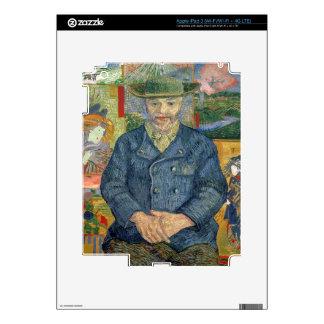 Vincent van Gogh el | Pere Tanguy (padre Tanguy) iPad 3 Pegatinas Skins