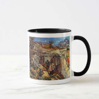 Vincent Van Gogh - Entrance To A Quarry Fine Art Mug