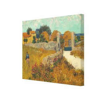Vincent van Gogh | Farmhouse in Provence, 1888 Canvas Print