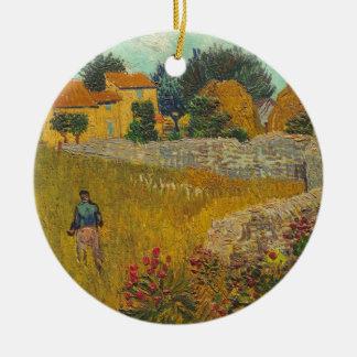 Vincent van Gogh | Farmhouse in Provence, 1888 Ceramic Ornament