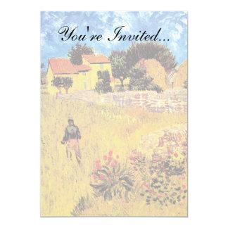 Vincent Van Gogh - Farmhouse In Provence Fine Art Card