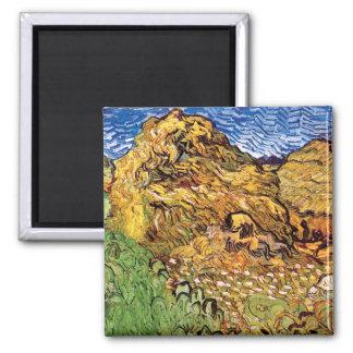 Vincent Van Gogh - Field With Stacks Of Grain Magnet