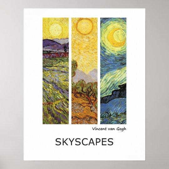Vincent van Gogh Fine Art Landscapes Poster