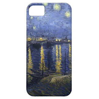 Vincent Van Gogh Fine Art Painting Starry Night -  iPhone 5 Cases