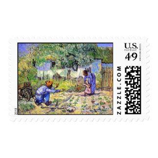 Vincent Van Gogh - First Steps - Father's Day Art Postage