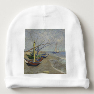 Vincent Van Gogh - Fishing Boats on Saintes Maries Baby Beanie