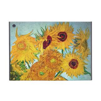 Vincent van Gogh - florero con 12 girasoles iPad Mini Cobertura