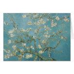 Vincent van Gogh, flores de la almendra Felicitacion