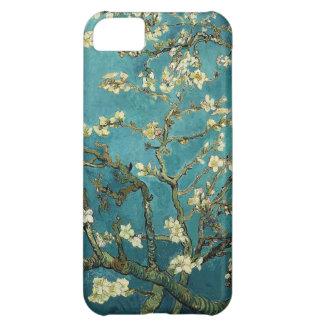 Vincent van Gogh - flores florecientes del árbol Funda Para iPhone 5C
