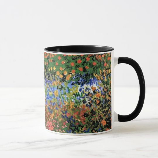 Vincent Van Gogh - Flowering Garden Fine Art Mug