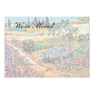 Vincent Van Gogh - Flowering Garden With Path Card