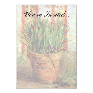 Vincent Van Gogh - Flowerpot With Chives Card