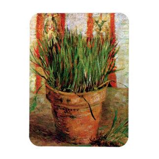 Vincent Van Gogh - Flowerpot With Chives Magnet