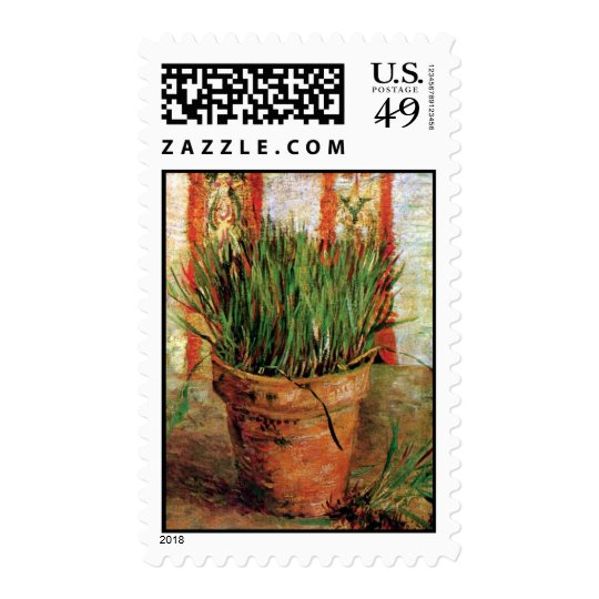Vincent Van Gogh - Flowerpot With Chives Postage