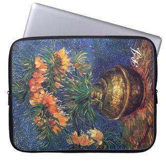 Vincent van Gogh flowers Computer Sleeve