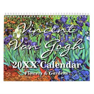 Vincent Van Gogh Flowers & Gardens Calendar