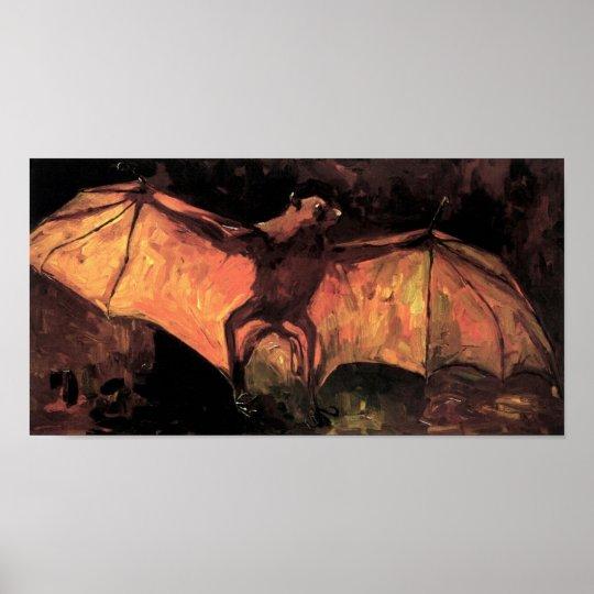 Vincent Van Gogh - Flying Fox - Halloween Fine Art Poster