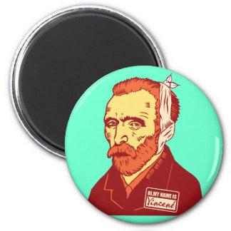 Vincent Van Gogh Fridge Magnet