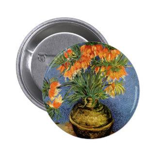 Vincent van Gogh - Fritillaries en un florero de c Pins