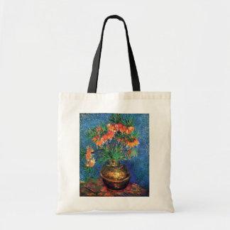 Vincent Van Gogh - Fritillaries In A Copper Vase Tote Bag