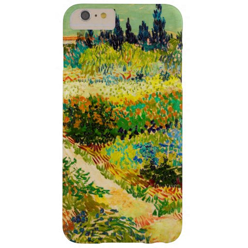 Vincent Van Gogh Garden at Arles Barely There iPhone 6 Plus Case