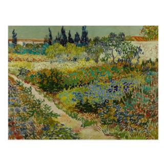 Awesome Vincent Van Gogh   Garden At Arles Postcard