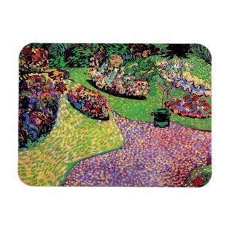 Vincent Van Gogh - Garden In Auvers Fine Art Magnet
