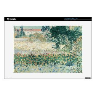 Vincent van Gogh | Garden in Bloom, Arles, 1888 Laptop Skin