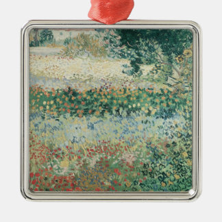 Vincent van Gogh | Garden in Bloom, Arles, 1888 Metal Ornament